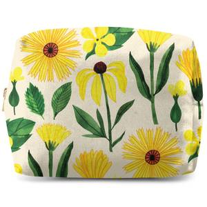 Retro Mellow Flowers Wash Bag
