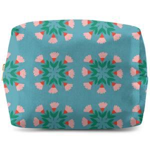 Circle Bunch Florals Wash Bag