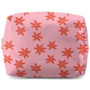 Scattered Star Flowers Wash Bag