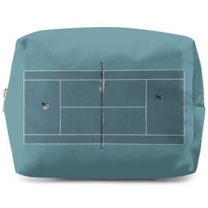 Teal Court Wash Bag
