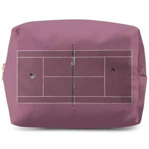 Pink Court Wash Bag
