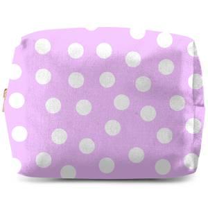 Light Pink Polka Dots Wash Bag