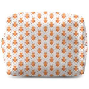 Orange Bug Wash Bag