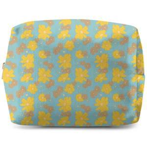 60s Floral Wash Bag