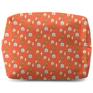 60s Small FLowers Wash Bag