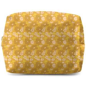 60s Floral Wallpaper Wash Bag