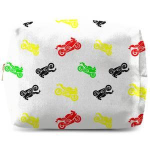 Motorbikes Wash Bag