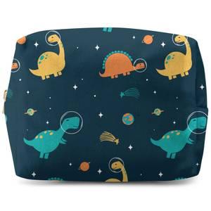 Space Dino Pattern Wash Bag