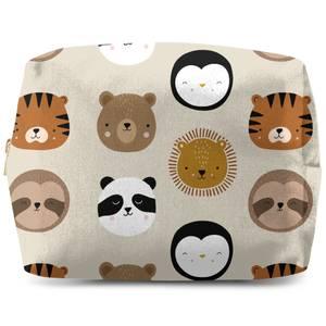 Animal Pattern Wash Bag