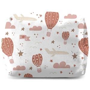 Earth Toned Kids Pattern Wash Bag