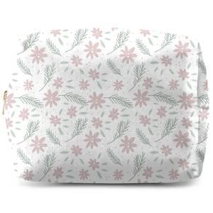 Neutral Floral Wash Bag
