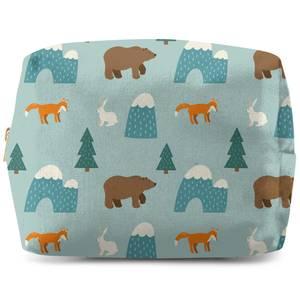 Forest Animals Wash Bag