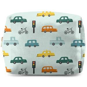 Traffic Pattern Wash Bag