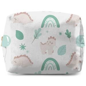 Dusty Pink Dino Wash Bag