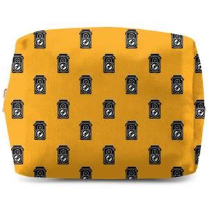 Retro Comedy Film Pattern Wash Bag