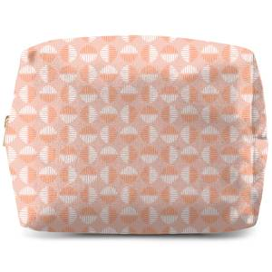 Retro Pink Circles Wash Bag