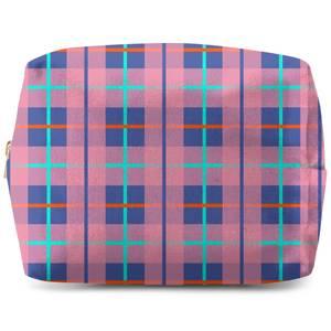 Modern Tartan Wash Bag