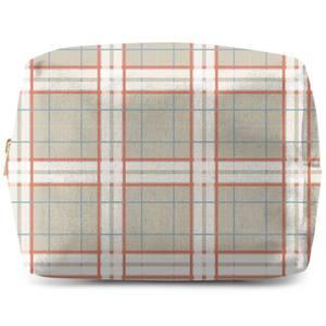 Artistic Tartan Wash Bag