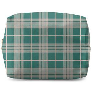 Home Tartan Wash Bag
