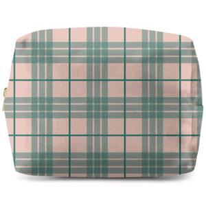 Pretty Tartan Wash Bag