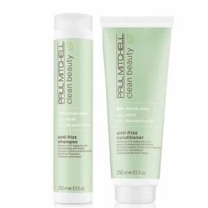 Paul Mitchell Clean Beauty Anti-Frizz Shampoo and Conditioner Set