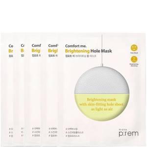 make p:rem Comfort Me. Brightening Hole Mask (Pack of 5)