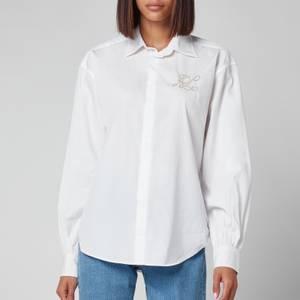 Polo Ralph Lauren Women's Oversized Shirt - White