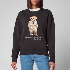 Polo Ralph Lauren Women's Safari Bear Sweatshirt - Black