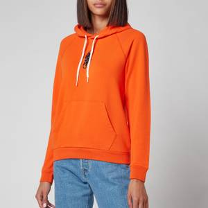 Polo Ralph Lauren Women's Polo Logo Hoodie - Fiesta Orange