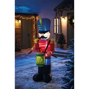 6ft Nutcracker Drummer Christmas Inflatable