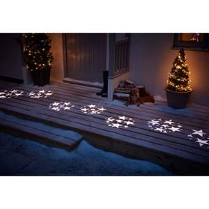 10 Bulb Star Christmas Projector String Light - Warm White