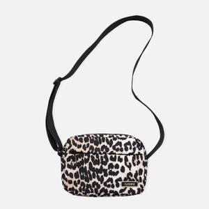 Ganni Women's Recycled Tech Fabric Bags - Leopard