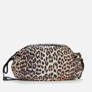 Ganni Women's Duffle Recycled Bag - Leopard