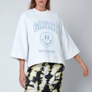 Ganni Women's Isoli Top - Heather