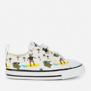 Converse Toddlers' Chuck Taylor All Star Croc Velcro Ox Trainers - Chuck Taylor All Star 2V - OX