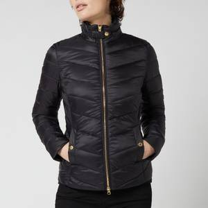 Barbour International Women's Aubern Quilted Jacket - Black