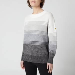 Barbour International Women's Hallstatt Knitted Jumper - Smoke Ombre