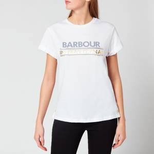 Barbour International Women's Sitka Tee - White