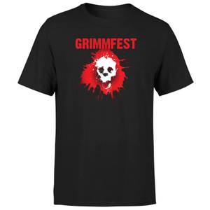Skullsplat Logo Men's T-Shirt - Black
