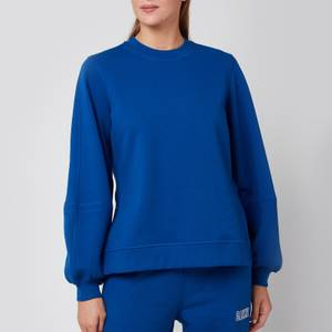 Ganni Women's Puff Sleeve Sweatshirt - Daphine