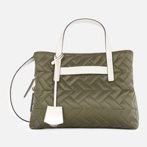 Radley Women's Finsbury Park Quilt Medium Ziptop Multiway Bag - Khaki