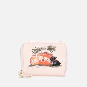 Radley Women's Lets Travel Small Zip Around Wallet - Blush
