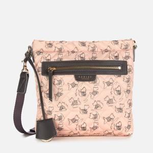 Radley Women's Maple Cross - Signature Quilt Small Ziptop Cross Body Bag - Blush