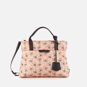 Radley Women's Maple Cross - Signature Quilt Medium Ziptop Multiway Bag - Blush