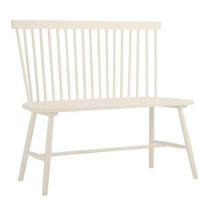 Laura Spindle Back Bench - Ivory