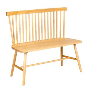 Laura Spindle Back Bench - Birch