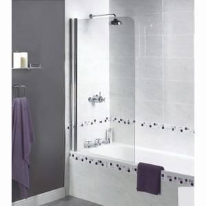 Aqualux Shine Bathscreen - 850 x 1500 x 6mm