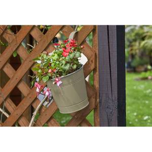 6 Fence and Balcony Hanging Pot - Putty