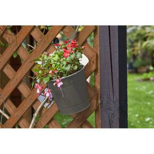 6 Fence and Balcony Hanging Pot - Grey