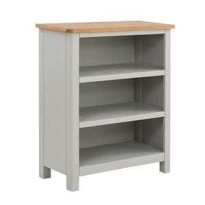 Norbury Low Bookcase - Grey